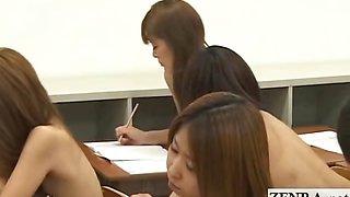 Shy nude in school Japan schoolgirls and milf teacher