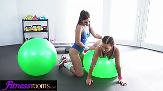 Fitness rooms big tits young icelandic babe facesitting