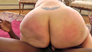 BBW gets pussy and ass insured with IR threeway