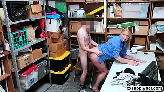 Rachael Cavalli gets bang in her office by some strangers bi