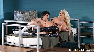 Mature woman wants this young boy's huge dick