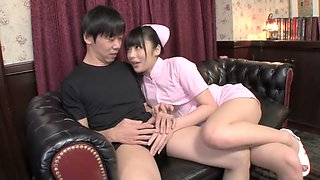 Incredible Japanese slut in Fabulous Teens, Nurse JAV scene