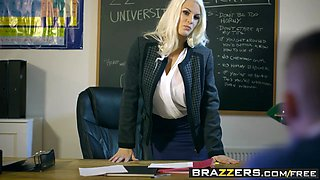 Brazzers - Big Tits at School - Teacher Tease scene starring Blanche Bradburry Jordi El Nino Polla