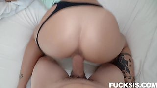 Hot Stepsis Fucks Stepbro For Followers With Paisley Paige And Mixed Ethnicity