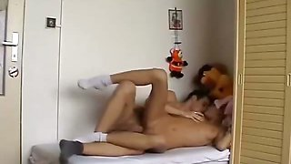 Amateurs enjoy pleasing each other in 69 pose
