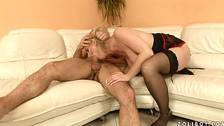 mature MILF Monik  - Bi curious boy   1