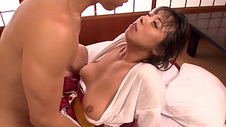 Sensual Asian babe gets fucked with a lot of passion