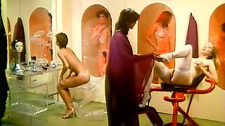 Incredible nice classic porn compilation with DP and facial