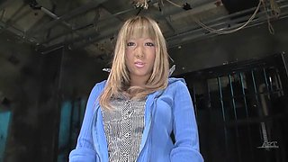 Fabulous Japanese model in Amazing HD, Blonde JAV video