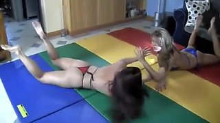 wrestling tickling (at the end) F/f