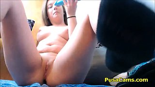 Teens Pussy Pulsing while Squirting Longest Orgasm
