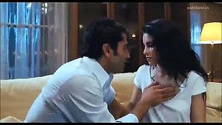 Turkish Actress, Sexy Nip Slip, Kissing, very sexy