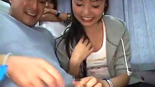Best Japanese girl Yuka Osawa, Natsumi Horiguchi, Erin Tohno in Incredible Public, Car JAV movie