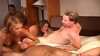 Mature Women In Mixed Orgy With Many Men