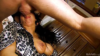 Playing with the pierced pussy of his amazing darling Sonia Rox
