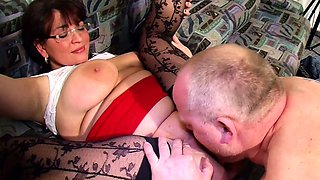 BIG NATURAL TIT MATURE JOIN FFM THREESOME WITH GERMAN COUPLE