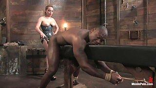 Miss Starr Dominates Big Boy's Black Ass
