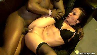 dirty drunken orgy for single women