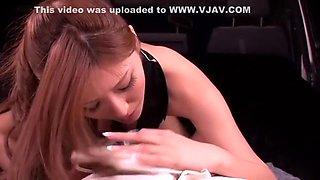 Amazing Japanese whore Yuna Shiina in Fabulous Fingering, Stockings/Pansuto JAV scene