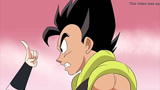 Bulma and Chichi refuse to handle Gogeta's dick (Dbz)