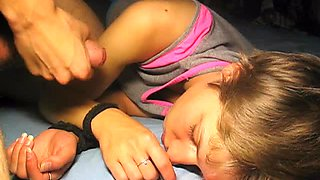 Amateur, Cuming on sleeping girl