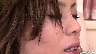 Hot 69 with nasty slut Natsumi Mitsu and her pink furry muff