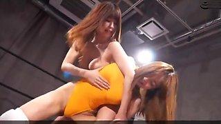 BSLU-04 Japanese Lesbian Wrestling