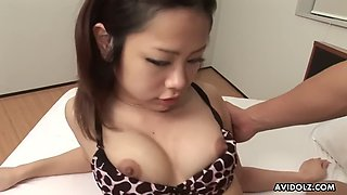 kawaii asian girl rena gets her tight hairy pussy creampied