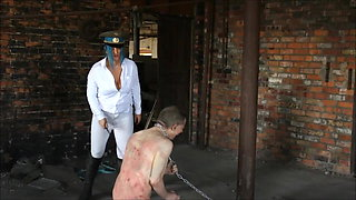 Mistress Vexxa. Hard Whipping At The British Institution