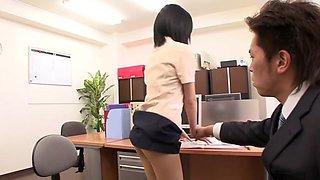 Arisa Kuroki, Riri Kuribayashi in Newly Hired Female Employees 16 part 2.1
