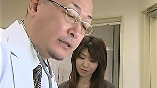 japanese doctor gets horny for married patients