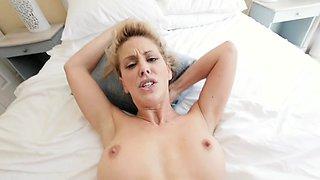 PervMom - Horny Big Tit Mom Fucks Panty Sniffing StepSon