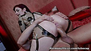 Exotic pornstar in Crazy Latex, Cumshots sex clip