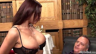 sexy secretary is fucked by her boss