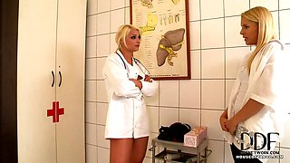 Naughty doctor dominating