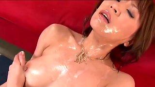 Jun Kusanagi in Sperma Queen