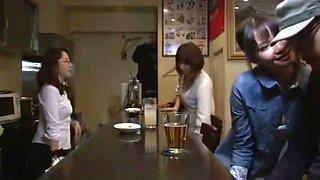 Exotic Japanese whore Mirei Kazuha in Crazy Blowjob, Swallow JAV video