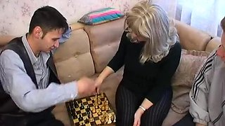 Crazy Amateur video with Gangbang, Russian scenes