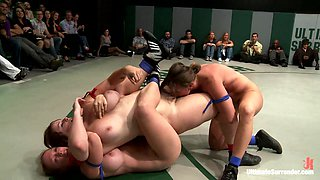 Battle Of The Champions: 5 Girl Brutal Orgy On The Mat. The 2 Losers Get Fucked By The Winners  - Publicdisgrace