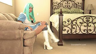 Boob Play & Unusual Insertion Video - DanielleFtv