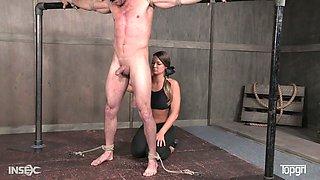 Hot femdom video featuring appetizing mistress London River