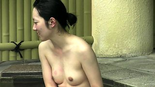 Small chinese cock in her tiny asshole