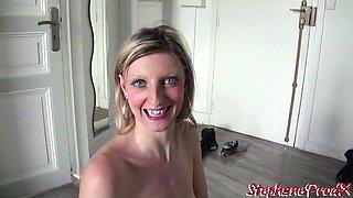 Cynthia swallow se regale avec la grosse queue de Stephane
