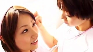 Exotic Japanese slut Akina Hara in Best Cunnilingus, Blowjob JAV movie