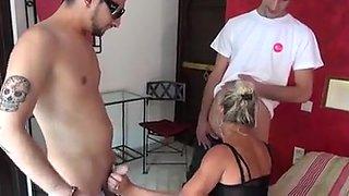 Gorgeous milf enjoys fucking