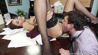 Jasmine Caro & Preston Parker in Naughty Office
