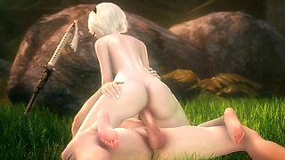 COW Girl Animation Compilation Sex 1x