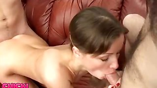 High Heels Sex for Threesome