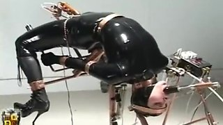Claire Adams fucked by a machine