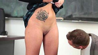 School Slut Sophia Grace Gets Rammed Good